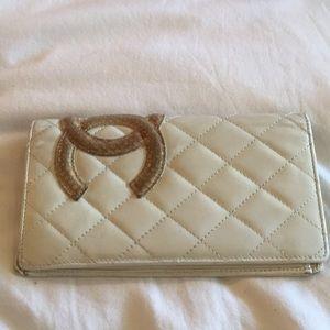 Creme Chanel Wallet
